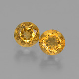 thumb image of 0.9ct Round Facet Yellow Golden Citrine (ID: 426695)