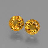 thumb image of 1ct Round Facet Yellow Golden Citrine (ID: 426731)
