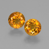 thumb image of 1.6ct Round Facet Yellow Golden Citrine (ID: 426766)
