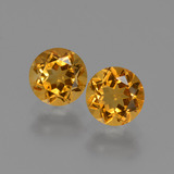thumb image of 0.9ct Round Facet Yellow Golden Citrine (ID: 426900)