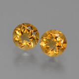 thumb image of 0.9ct Round Facet Yellow Golden Citrine (ID: 426902)