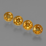 thumb image of 1.9ct Round Facet Yellow Golden Citrine (ID: 426945)