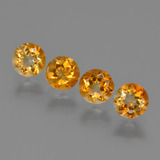 thumb image of 1.9ct Round Facet Yellow Golden Citrine (ID: 426947)