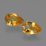 thumb image of 2ct Pear Facet Yellow Golden Citrine (ID: 427085)