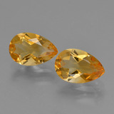 thumb image of 2.3ct Pear Facet Yellow Golden Citrine (ID: 427136)