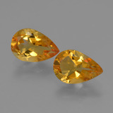 thumb image of 2.2ct Pear Facet Yellow Golden Citrine (ID: 427137)