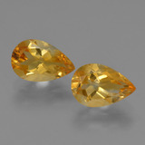 thumb image of 2.4ct Pear Facet Yellow Golden Citrine (ID: 427139)