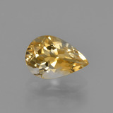 thumb image of 1.2ct Pear Facet Yellow Golden Citrine (ID: 427164)