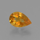 thumb image of 1.1ct Pear Facet Yellow Golden Citrine (ID: 427166)