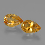 thumb image of 2.5ct Pear Facet Yellow Golden Citrine (ID: 427239)