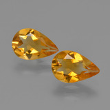 thumb image of 1.9ct Pear Facet Yellow Golden Citrine (ID: 427242)