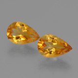 thumb image of 2.2ct Pear Facet Yellow Golden Citrine (ID: 427244)