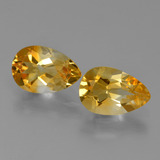 thumb image of 2.4ct Pear Facet Yellow Golden Citrine (ID: 427279)
