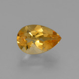thumb image of 1.3ct Pear Facet Yellow Golden Citrine (ID: 427324)