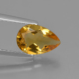 thumb image of 1ct Pear Facet Yellow Golden Citrine (ID: 427331)