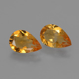 thumb image of 2ct Pear Facet Yellow Golden Citrine (ID: 427393)