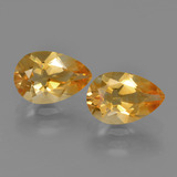 thumb image of 2.4ct Pear Facet Yellow Golden Citrine (ID: 427447)
