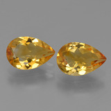 thumb image of 2.2ct Pear Facet Yellow Golden Citrine (ID: 427451)