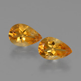 thumb image of 2.2ct Pear Facet Yellow Golden Citrine (ID: 427500)