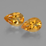 thumb image of 2.4ct Pear Facet Yellow Golden Citrine (ID: 427600)