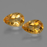 thumb image of 2.4ct Pear Facet Yellow Golden Citrine (ID: 427606)