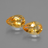 thumb image of 2.4ct Pear Facet Yellow Golden Citrine (ID: 427705)