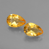thumb image of 2.1ct Pear Facet Yellow Golden Citrine (ID: 427712)