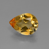 thumb image of 2.1ct Pear Facet Yellow Golden Citrine (ID: 427758)