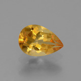 thumb image of 1.1ct Pear Facet Yellow Golden Citrine (ID: 427813)