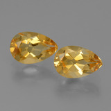 thumb image of 2.3ct Pear Facet Yellow Golden Citrine (ID: 427817)