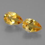 thumb image of 2.2ct Pear Facet Yellow Golden Citrine (ID: 427819)