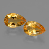 thumb image of 2.2ct Pear Facet Yellow Golden Citrine (ID: 427821)