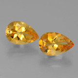 thumb image of 1.1ct Pear Facet Yellow Golden Citrine (ID: 427822)
