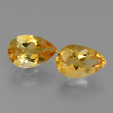 thumb image of 2.3ct Pear Facet Yellow Golden Citrine (ID: 427823)