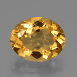 thumb image of 4.4ct Oval Facet Yellow Golden Citrine (ID: 427985)