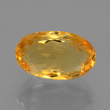thumb image of 6.1ct Oval Facet Yellow Golden Citrine (ID: 428065)