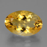 thumb image of 6.7ct Oval Facet Yellow Golden Citrine (ID: 428074)