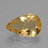thumb image of 5.6ct Pear Facet Yellow Golden Citrine (ID: 428105)
