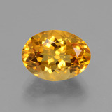thumb image of 4ct Oval Facet Yellow Golden Citrine (ID: 428207)