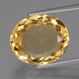 thumb image of 6ct Oval Facet Yellow Golden Citrine (ID: 428236)