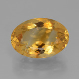 thumb image of 5.8ct Oval Facet Yellow Golden Citrine (ID: 428392)