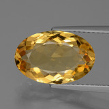thumb image of 4.4ct Oval Facet Yellow Golden Citrine (ID: 428452)