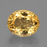 thumb image of 4.8ct Oval Facet Yellow Golden Citrine (ID: 428547)