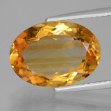 thumb image of 4.6ct Oval Facet Yellow Golden Citrine (ID: 428585)