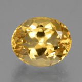 thumb image of 5ct Oval Facet Yellow Golden Citrine (ID: 428692)