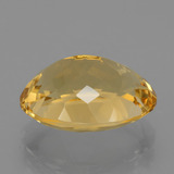 7.80 ct Oval Facet Yellow Golden Citrine Gem 14.87 mm x 11.8 mm (Photo C)
