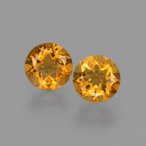 thumb image of 0.9ct Round Facet Yellow Golden Citrine (ID: 428821)