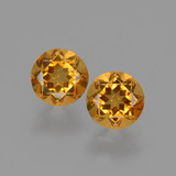 thumb image of 0.9ct Round Facet Yellow Golden Citrine (ID: 428826)
