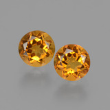 thumb image of 0.9ct Round Facet Yellow Golden Citrine (ID: 428828)