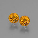 thumb image of 0.9ct Round Facet Yellow Golden Citrine (ID: 428868)